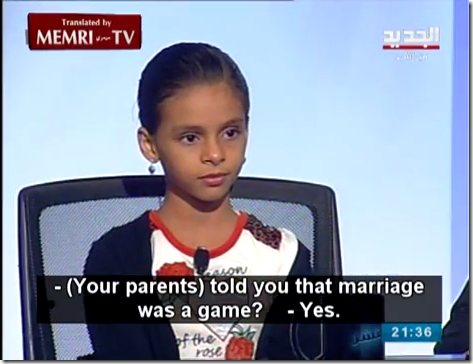 Yemeni Child Nada who Fled Forced Marriage and Egyptian Cleric Debate Child Marriage